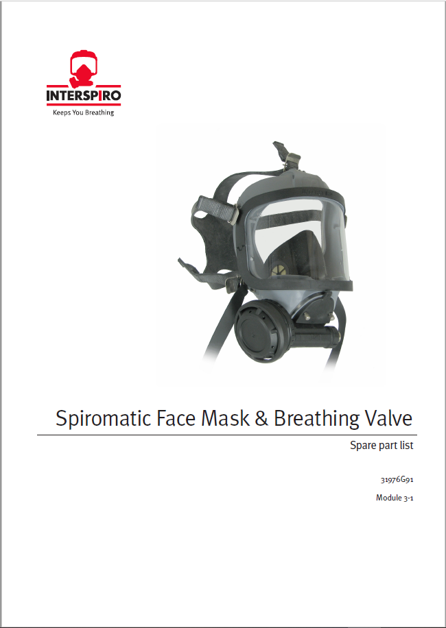 Firefighting - Module 3-1 - Spare parts & Service kits for Spiromatic Mask & BV
