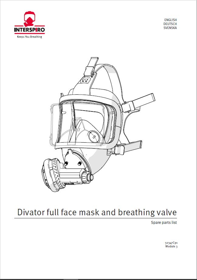 Diving - Module 3 - Spare parts & Service kits for Full Face Mask & BV