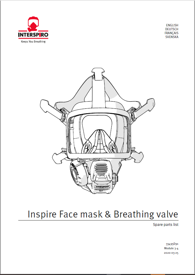 Firefighting - Module 3-4 - Spare parts list INSPIRE mask and BV