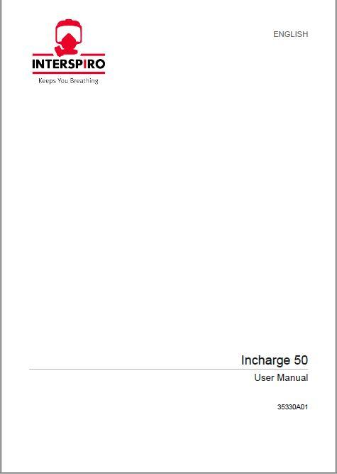 Firefighting user manual: 35330C - Incharge 50