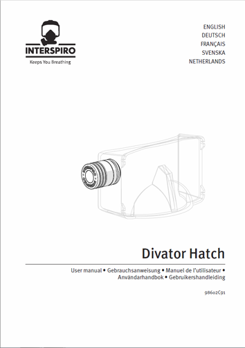 Diving user manual: 98602C - Divator Hatch