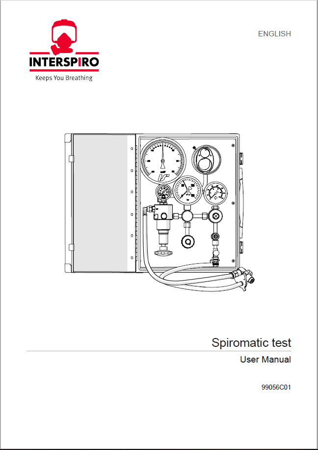 Test user manual: 99056C - Spiromatic Test