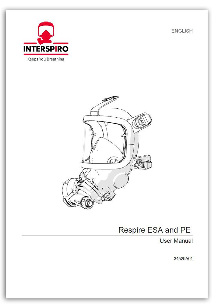 Firefighting user manual: 34529B - Respire ESA and PE