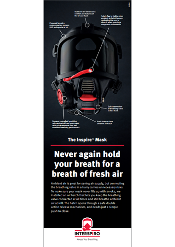 Advert 105 x 297 - Inspire Mask