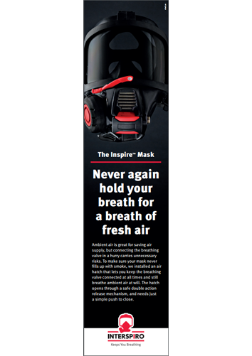 Advert 70 x 297 - Inspire Mask