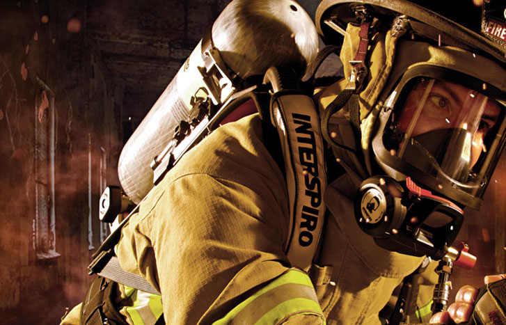 The Spiromatic™ S8 Firefighting Safety System – Engineered for the best of the best