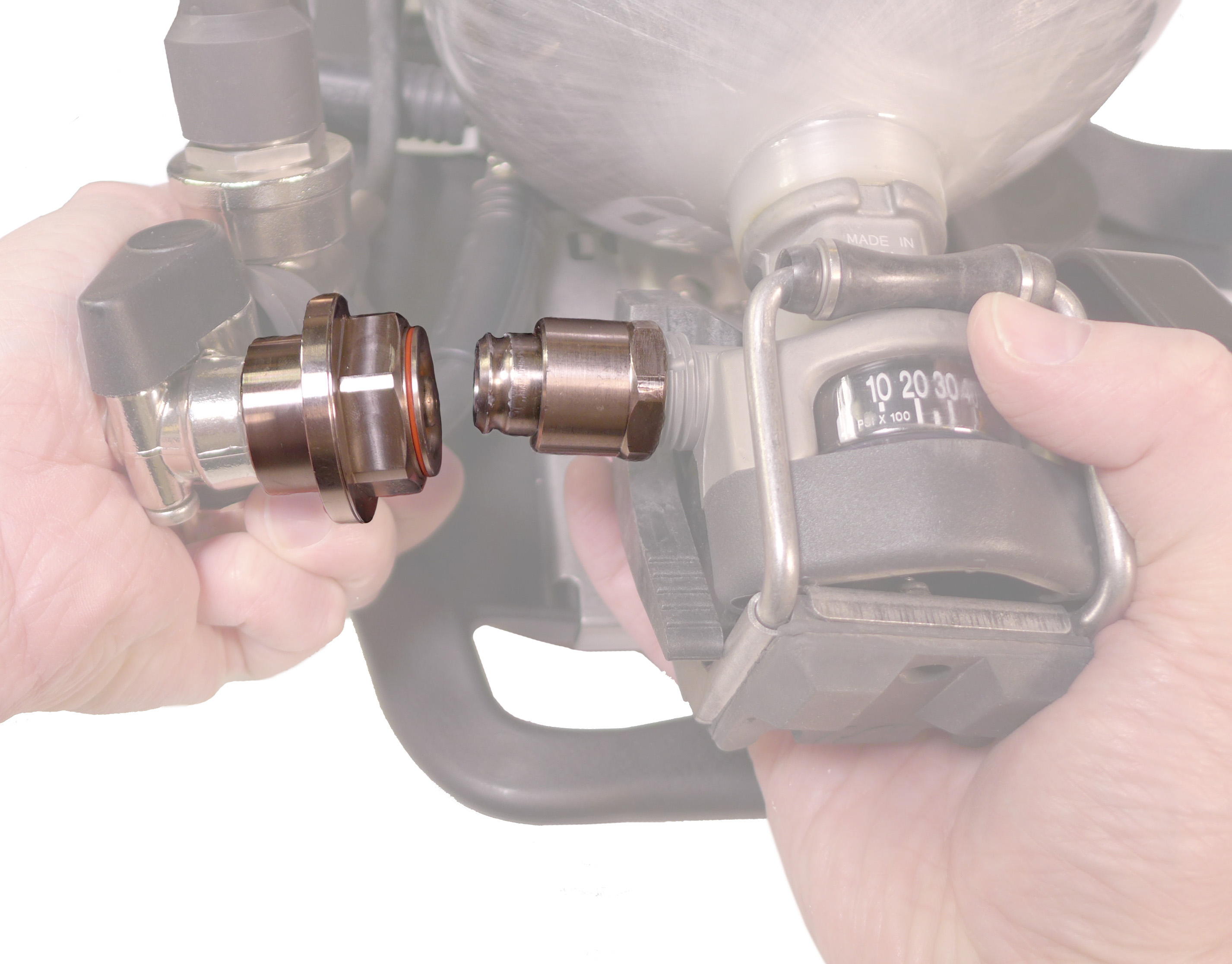 Cylinder Quick Coupling - CGA